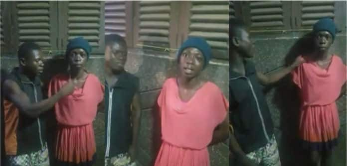 Young boy cross dress to have intimate affairs with fellow boys out of poverty