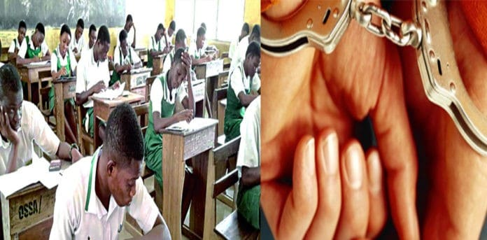 Principal taken into custody for uploading exam questions on WhatsApp status