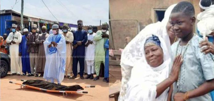 10-year-old Ishmael Mensah Abdallah finally laid to rest