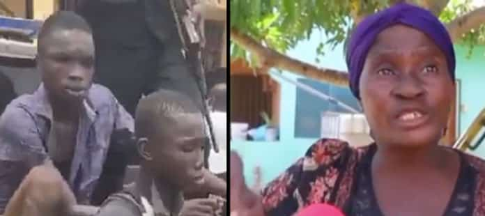 Juju woman that demanded  from the 2 Kasoa teenagers to bring a dead child & ¢5000 for money rituals arrested has been arrested