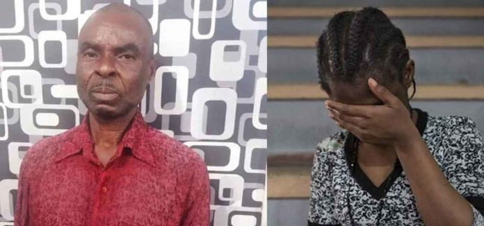 Man arrested for being intimate with his 12-year-old daughter for 5 years