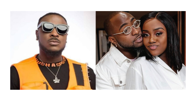 Again, Peruzzi reacts to claims of having an affair with Davido's Chioma