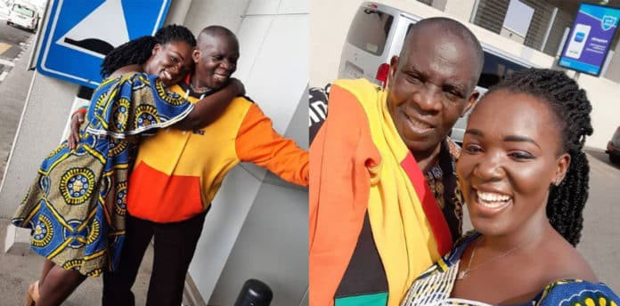 Tima Kumkum reunites with her father after 20 years