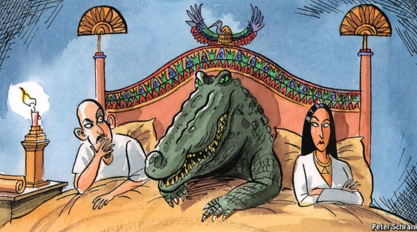 EGYPTIANS KINKY! Why Egyptians Used To Have S$x With Crocodiles AND Other Animals [VIDEO]