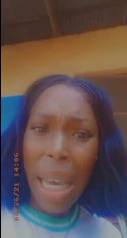 VIDEO: Corps member in tears after principal allegedly beat her over request for rejection letter