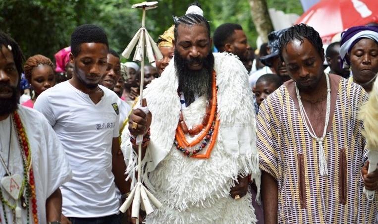 This Nigerian Festival Converts Virgins Into Goddesses [VIDEO/PHOTOS] 