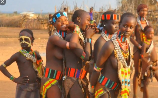 INTERESTING! See the Tribe That Allows Women Sleep With Many Men Before Marriage!