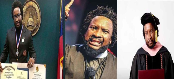 Sonnie Badu replies claims  of buying fake Doctorate Degrees in 4 months