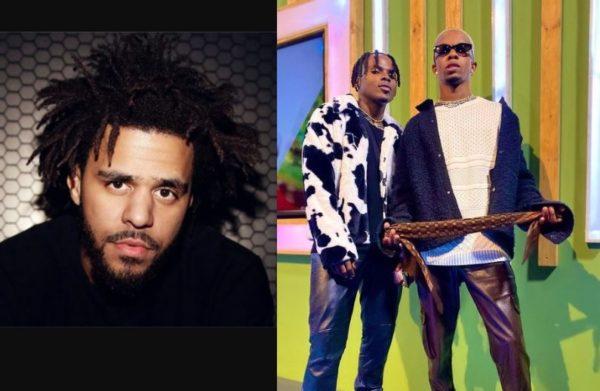 Ambitiouz Entertainment compares Dlaq Diamond with J Cole