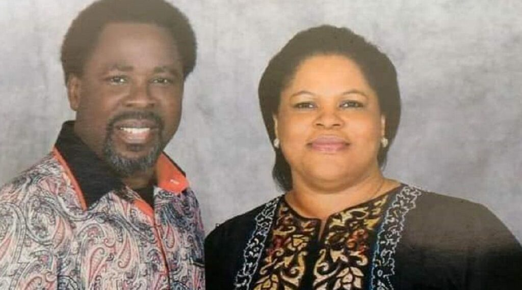 How my husband died in his inner chambers — Evelyn, TB Joshua's wife reveals shocking details