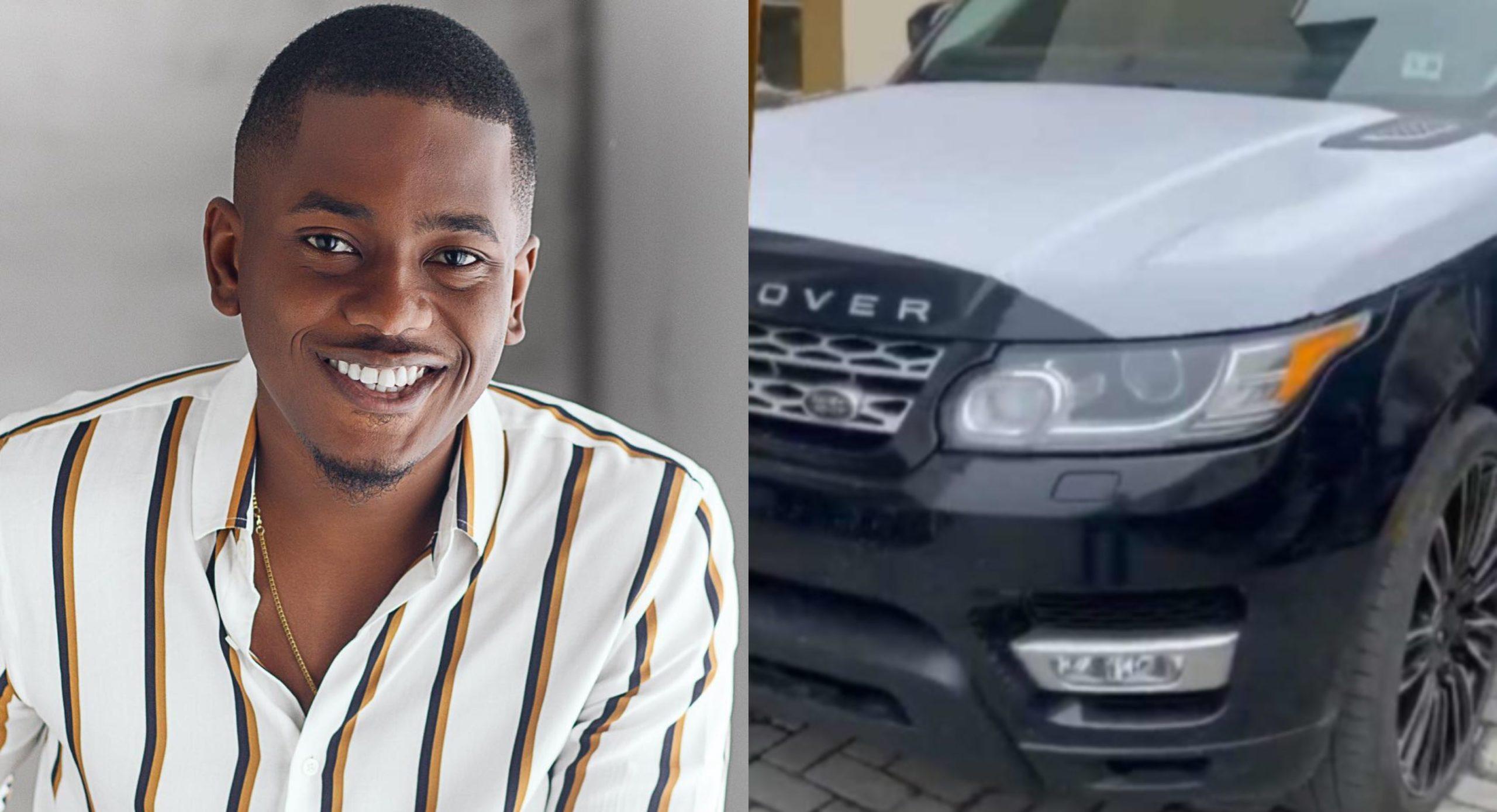 Timini Egbuson acquires Range Rover SUV