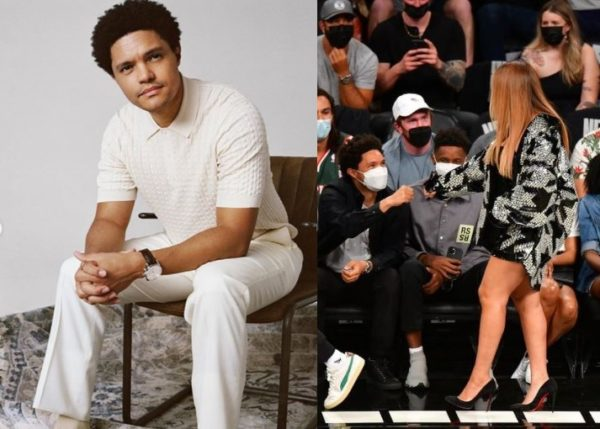 Trevor Noah reacts to being recognised by Jay Z and Beyone (Photo)