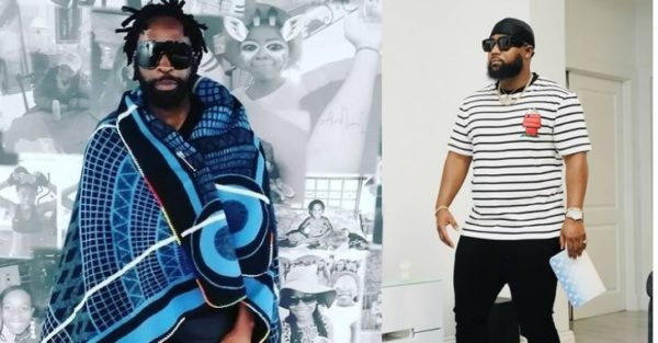 DJ Sbu congratulates Cassper Nyovest on his latest win