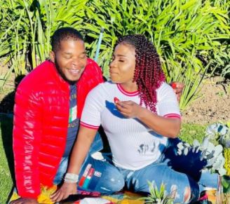 Makhadzi and bae all loved up in new post